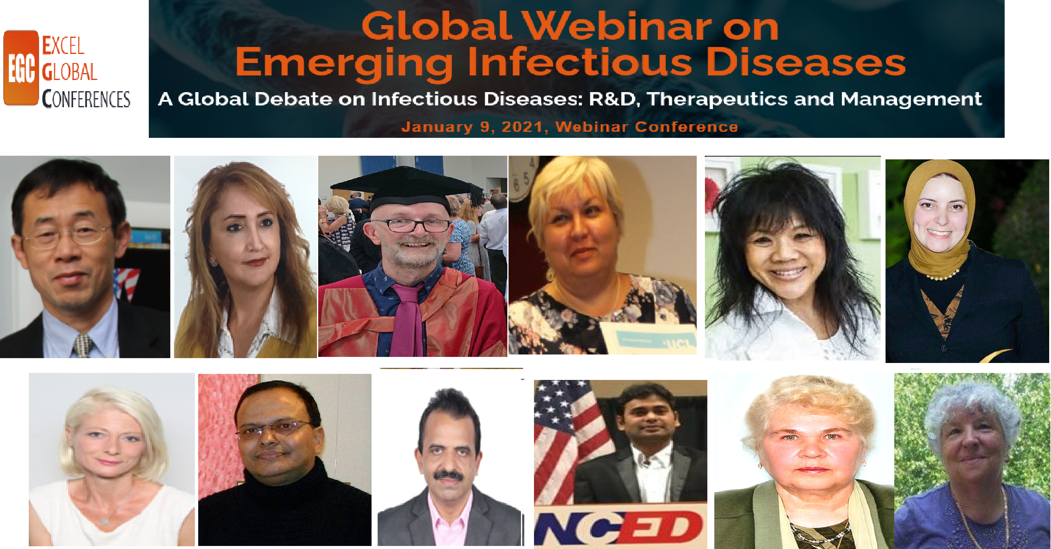 2nd Global Webinar on <br>Emerging Infectious Diseases & Pediatrics Infections